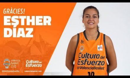 Agradecimiento Esther Díaz