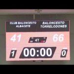 CB ALBACETE – BALONCESTO TORRELODONES