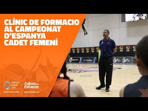 Clinic de formació al Campeonat d'Espanya Cadet Femení