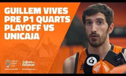 Guillem Vives pre P1 Cuartos de Playoff Liga Endesa vs Unicaja