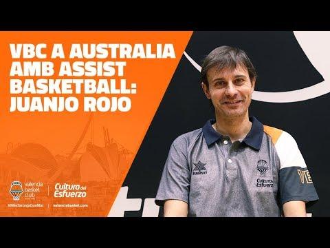 VBC a Australia amb Assist Basketball: Juanjo Rojo