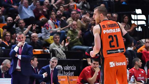 Matt Thomas: «Contento con mi primer año en Valencia»
