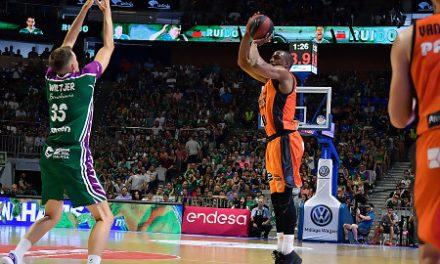 El Valencia Basket fuerza el tercer partido guiado por San Emeterio (69-76)