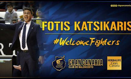 Katsikaris, entrenador del Herbalife Gran Canaria las próximas dos temporadas