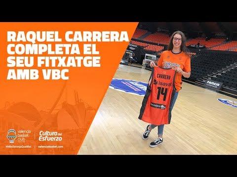 Raquel Carrera completa el seu fitxatge amb VBC