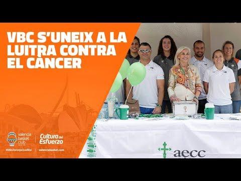 Valencia Basket s'uneix a la lluita contra el càncer