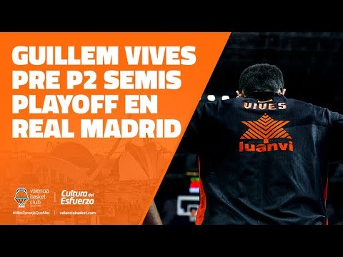 Guillem Vives pre P2 Semis Playoff en Real Madrid