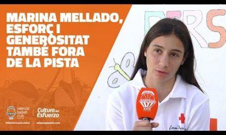 Marina Mellado, esfuerzo y generosidad también fuera de las pistas
