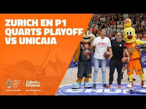 Zurich en P1 Cuartos Playoff vs Unicaja