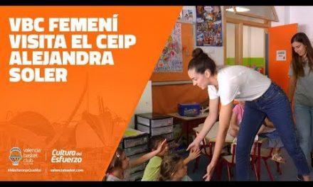 El VBC femení visita el CEIP Alejandra Soler