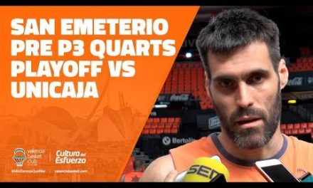 San Emeterio pre P3 Cuartos Playoff vs Unicaja