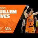 Guillem Vives renueva con Valencia Basket