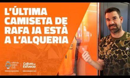 La última camiseta de Rafa Martínez ya está en L'Alqueria