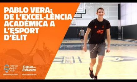 Pablo Vera, de la excelencia académica al deporte de élite
