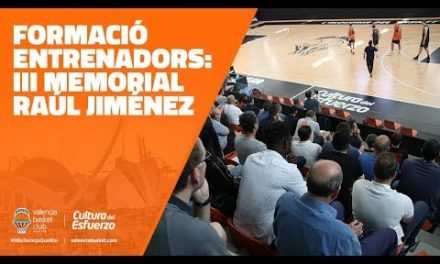 Formació d'entrenadors: III memorial Raúl Jiménez