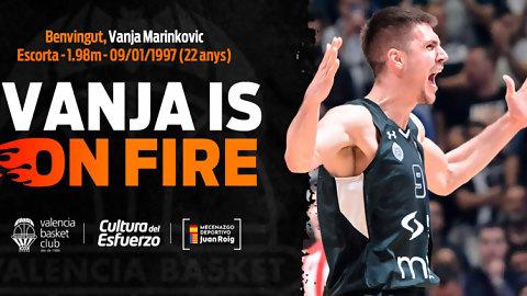 Marinkovic, una perla serbia para Valencia Basket