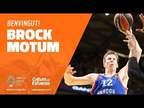 Acuerdo con Brock Motum
