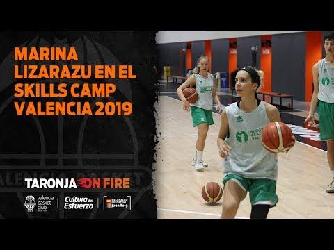 Marina Lizarazu en el Skills Camp Valencia 2019