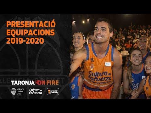 Presentación nuevas equipaciones Temporada 19-20