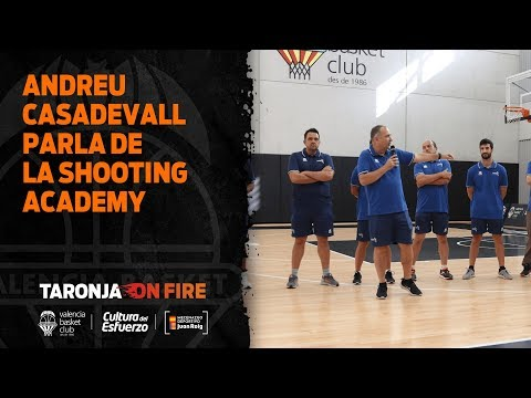 Andreu Casadevall sobre la shooting camp academy