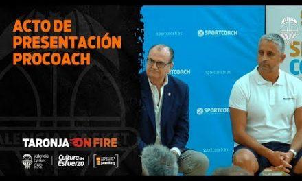 Acto presentación Sportcoach