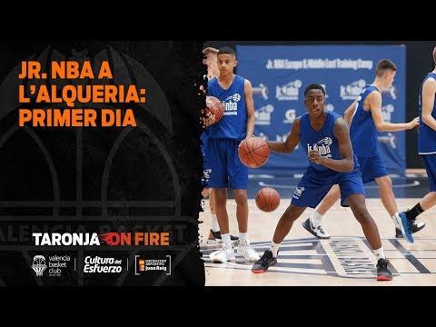 Jr. NBA a L'Alqueria: primer dia