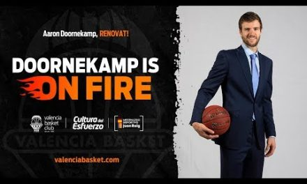 Aaron Doornekamp renueva con Valencia Basket