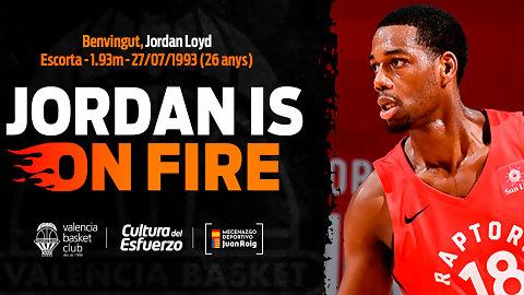 Jordan Loyd, anotación explosiva para las filas de Valencia Basket
