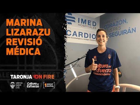Revisió médica Marina Lizarazu