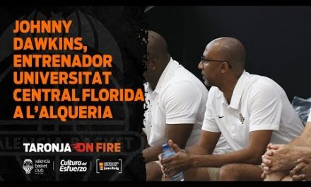 Johnny Dawkins, entrenador de la Universidad Central de Florida visita L'Alqueria