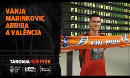 Vanja Marinkovic Arriba a València