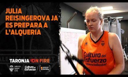 Julia Reisingerova ja es prepara a l'Alqueria
