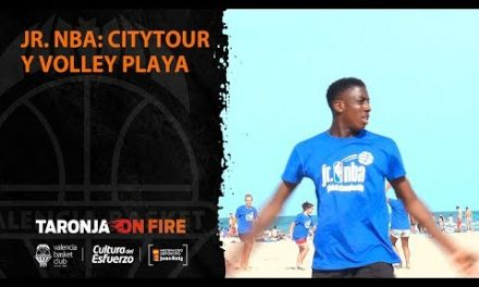 Jr. NBA: City tour y Volley playa