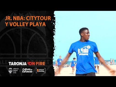Jr. NBA: City tour y Volley playa