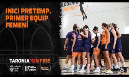 Inicio pretemporada primer equipo femenino