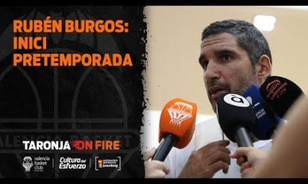 Rubén Burgos: inicio pretemporada