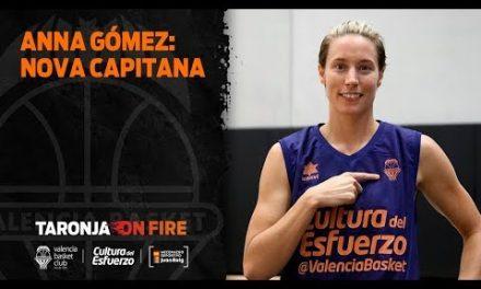 Anna Gómez, la nueva capitana