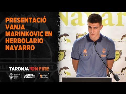 Presentación Vanja Marinkovic en Herbolario Navarro
