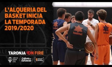 L'Alqueria del Basket inicia la temporada 2019/20