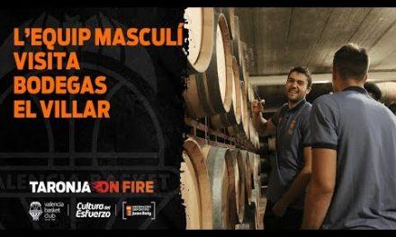 L'Equip Masculí visita Bodegas El Villar
