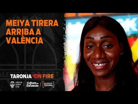 Meiya Tirera llega a Valencia