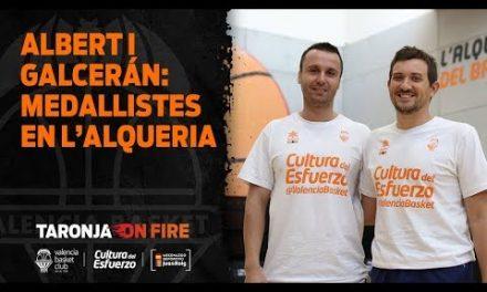 Julio Galcerán y Xavi Albert: medallistas en L'Alqueria