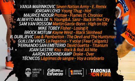Con estas canciones serán presentados jugadores y jugadoras del Valencia BC