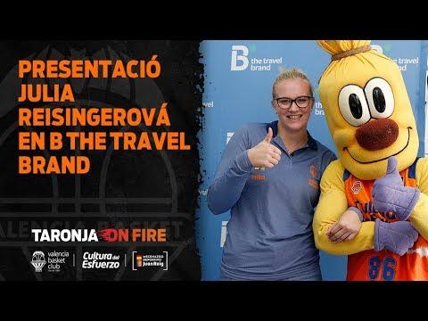 Presentación Julia Reisingerová en B the travel brand
