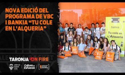 Nueva edición del programa de VBC con Bankia: «Tu cole en L'Alqueria»