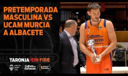 Pretemporada masculina vs UCAM Murcia en Albacete