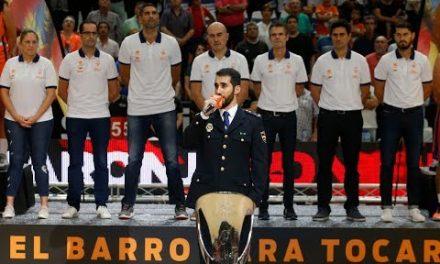 Himno Comunitat Valenciana por Don Juan Ledesma, Policía Nacional