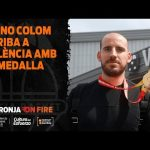 Quino Colom llega a València con la medalla