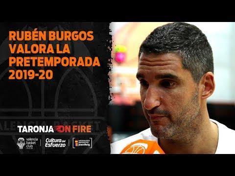 Rubén Burgos valora la pretemporada 2019-20