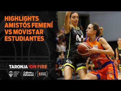 Highlights amistoso femenino VBC vs Movistar Estudiantes